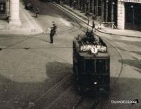 Dijon Tramway place du theatre 1930.jpg