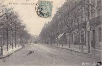 dijon avenue de la gare (avenue foch) 1905.jpg