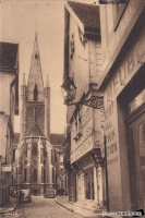 Dijon rue de la chouette rue verrerie debut 1900.jpg
