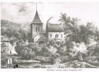 Quetigny ancienne eglise lithographie 1840.jpg